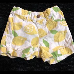 Children's place 3T lemon shorts